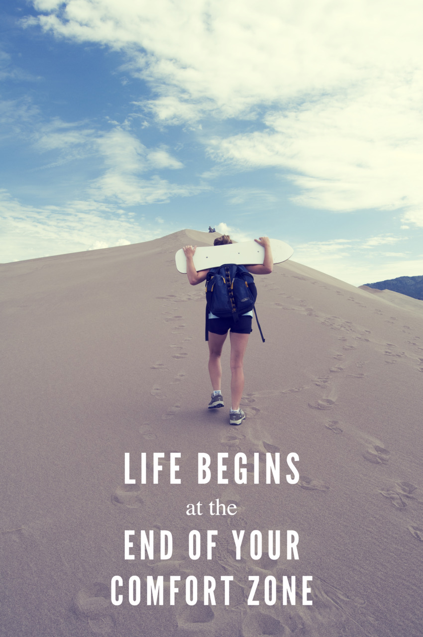summer-is-the-time:  Life begins at the end of your comfort zone