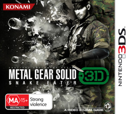 gamefreaksnz:  Metal Gear Solid: Snake Eater 3D breaks cover Hideo Kojima's jungle epic heads to Nintendo 3DS.
