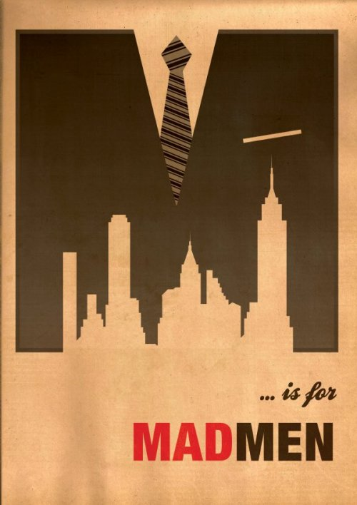carldelsans:  The letter of the day is….  Mad Men returns March 25th.
