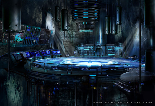 If I become rich, first thing I'm doing is building myself a Batcave. Yup.