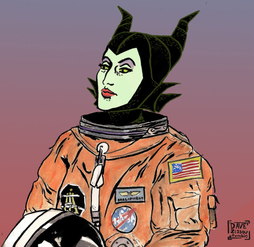 Malificent in Space! by Dave Zissou