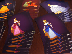 "Shoomlah.com Store Update! Historical Disney Princesses - COMPLETE PRINT SETI've finally finished ordering the 4 x 6"" postcards for the remaining princesses, so you can now purchase the entire set of Historical Disney Princess prints with one easy click.  I've also added a 15% discount when you buy them as a set, since it's waaaay easier for me to pack and ship them that way. :) Tiny HorusesI have four (4) Tiny Horus statues left, so I should be posting those up in the store in the next few days once I figure out a fair price.  Stay tuned! -C"
