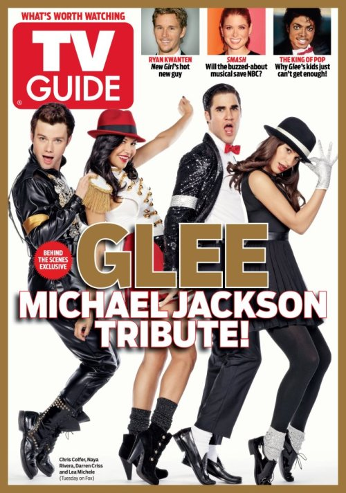 tvguide:  First Look: Glee's Michael Jackson Tribute