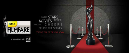 - 'Ra.One' in Filmfare nominations for Best Music Director (Vishal-Shekhar), Best Lyrics (Vishal, Niranjan Iyengar) & Best Playback Singer (Male) - Chammak Challo (Vishal, Akon) & Dildaara (Shafqat Amanat Ali) - 'Don 2' in Filmfare nominations for Best Film, Best Actor -Shah Rukh Khan, Best Director -Farhan Akhtar || Filmfare Awards (event) will happen on Jan 29