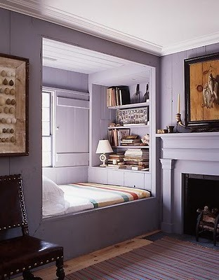 archiphile:  more bednooks / bedrooms