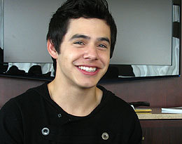 Will you watch @DavidArchie's TV show? :) (via candymag.com)