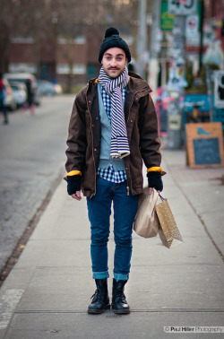 Street Fashion Toronto Winter on Flickr. Alex Puig