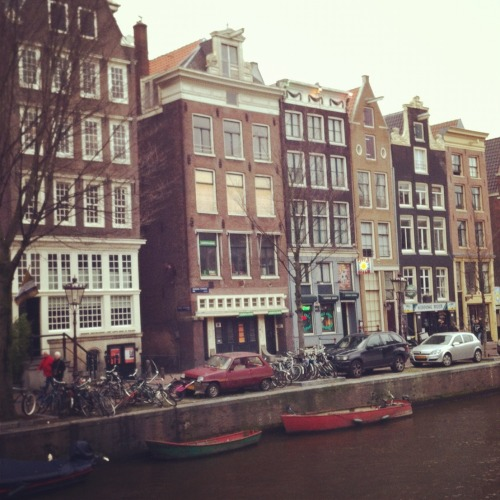 an afternoon walk in amsterdam
