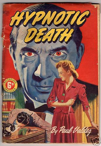 Bela on the cover of an Australian paperback