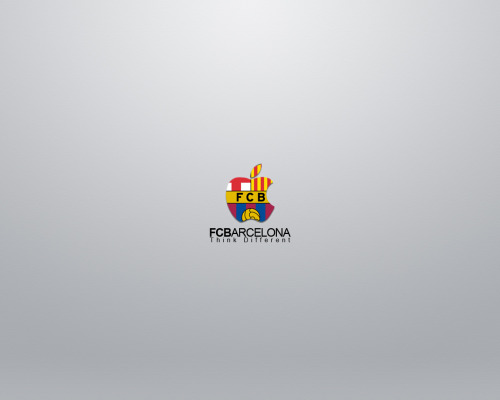 FC barcelona think different