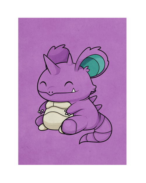 Nidoking - Requested by http://colorgasmfreak-art.tumblr.com/
