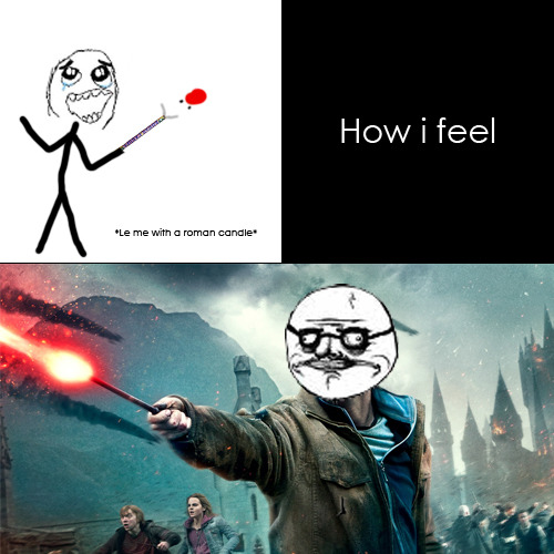 Me Gusta - Roman Candle / Harry Potter  Submitted by Jeffrey Harmunanto