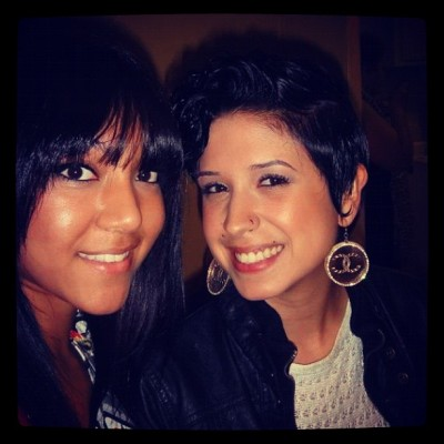 Me && Cutie on NYE.!!!  (Taken with instagram)