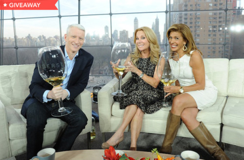 "'ANDERSON' GIVEAWAY Kathie Lee and Hoda from the ""Today"" show join us for ""Winesday Wednesday"" on today's show. Enter for your chance to win your own oversized ""Anderson"" wine glass by entering our giveaway. Click here to enter."