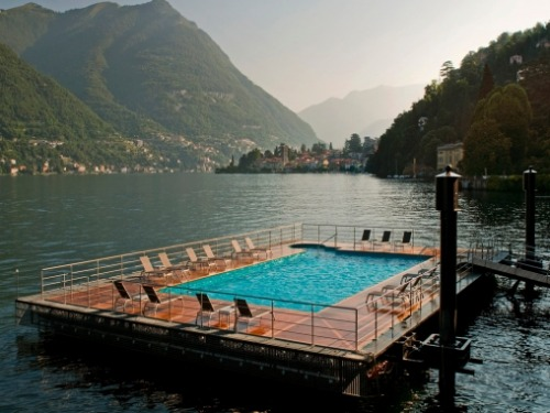 Pool with a View | Lake Como, Italy