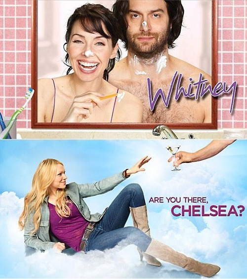 Tonight is the premiere of Are You There, Chelsea? and Whitney moves into its new time slot, so what better way to celebrate this television event than a drinking game. NBC Happy Hour Drinking Game Drink whenever any character on Are You There, Chelsea? mentions alcohol Drink whenever Whitney makes you want to die [disclaimer: TV Hangover is not responsible if you die]
