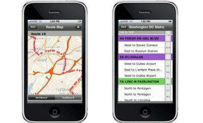 "Join the Mobility Revolution with These Five Apps - Technology Review Just in time: When's the bus coming? NextBus takes  away the guesswork: the app tells you exactly how many minutes away your  bus is. It works using GPS signals from devices installed inside city  buses. Boston has signed on, and so has San Francisco, where the app  also keeps track of trolleys and cable cars. NextBus is a 15-year-old company, and it was ""tough going"" for many  years, says chief technology officer Michael Smith. Originally, riders  got updates by calling a number or consulting bus-stop displays. Now the  rise of smart phones has made the system much more powerful. About 30  percent of NextBus's 800,000 daily users access the app via iPhones or  other smart devices. NextBus charges transit agencies a few hundred dollars per bus per  year to use its service, and more if the buses don't have GPS yet. The  fee Los Angeles pays to use the software in its 2,500-vehicle fleet:  $1.5 million over three years. But that's quickly made back in increased  ridership. Bus-stop haters can now arrive just in time."