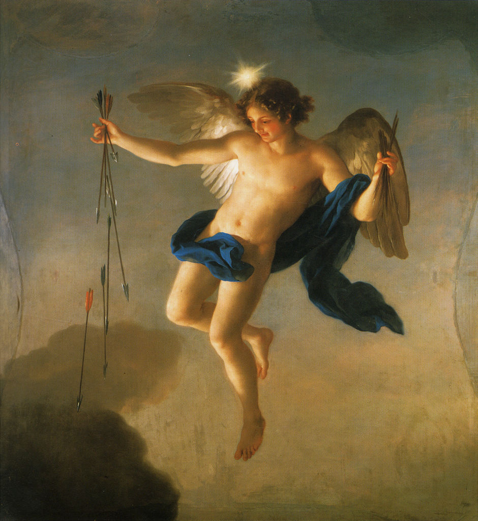 Hesperus as Personification of the Evening by Anton Raphael Mengs