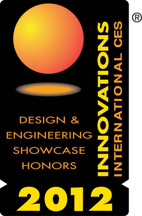 CES Innovations 2012 Design and Engineering Honoree Award