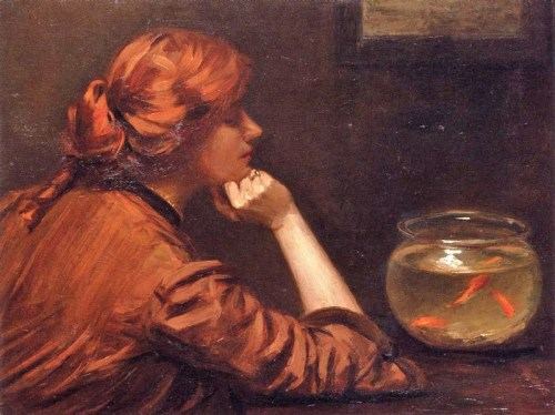 An Idle Moment, John White Alexander 1885