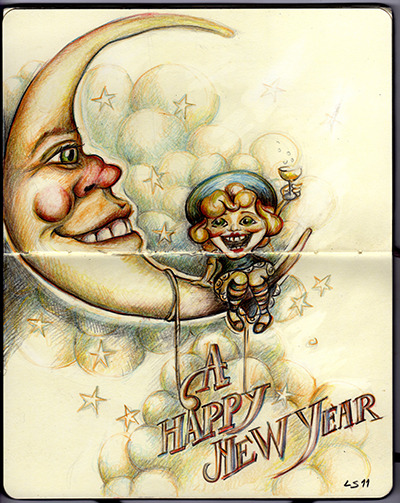 A Happy New Year! By Lapin Sauvage 2011 Wanna see more of my work?