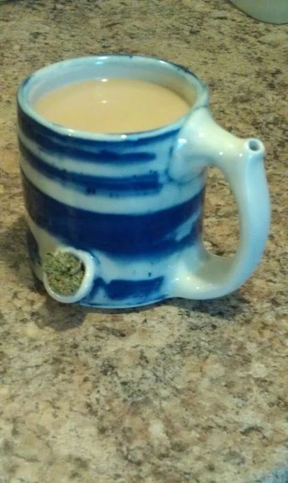 Coffee and Weed, now you can multitask.