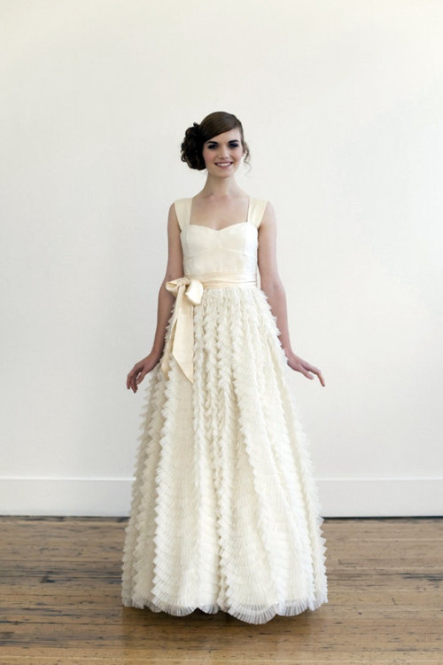 etsy:  (via Tea/Blush wedding gown by englishdept on Etsy)