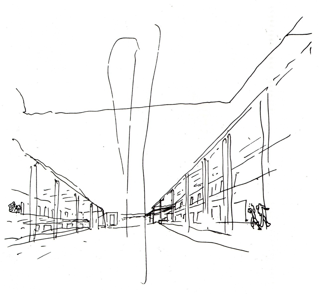 BLACK & WHITE SKETCHES | 016 | ÁLVARO SIZA VIEIRA