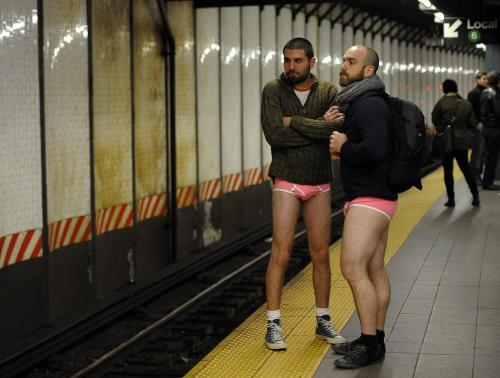 10th Annual No Pants Subway Ride 2012