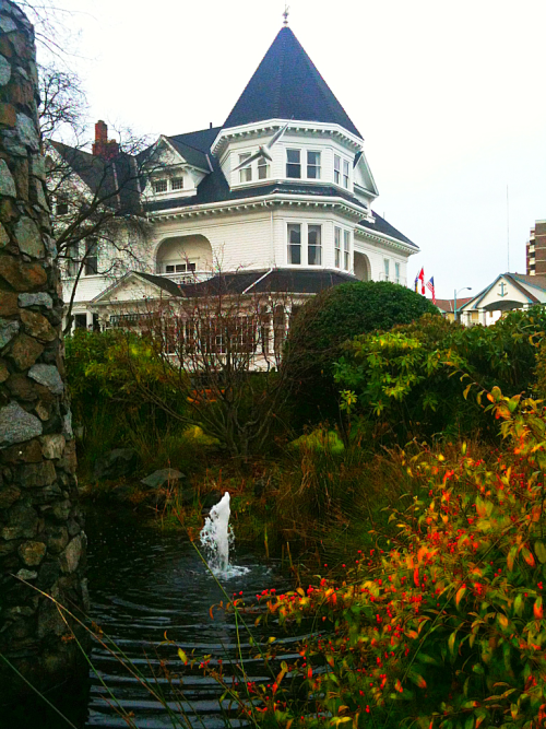Gatsby Mansion Inn. Victoria, British Columbia, Canada.