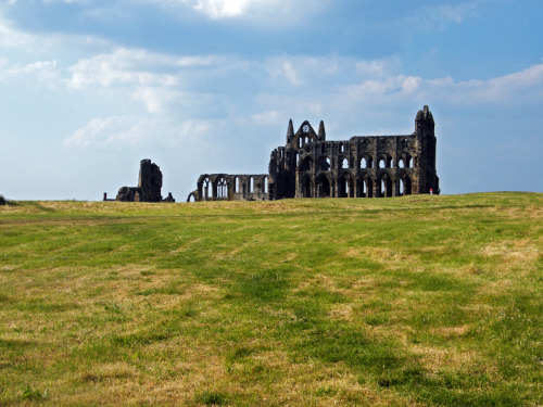 cyclingtheworld:  Whitby Abbey, England, UK.