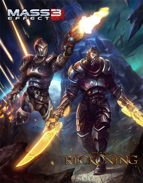 gamefreaksnz:  EA reveals Mass Effect 3 and Kingdoms of Amalur: Reckoning cross promotion  Cross-promotion rewards Mass Effect 3 fans with exclusive items designed by Todd McFarlane and Reckoning fans with items inspired by Mass Effect.