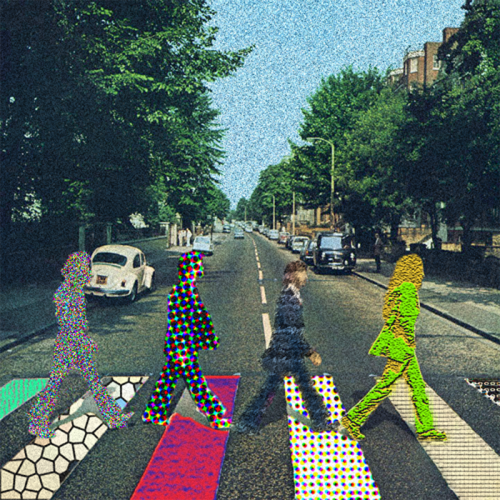 POP ART abbey road