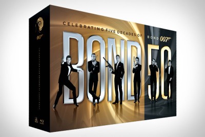 Bond 50 Blu Ray Set. Want.