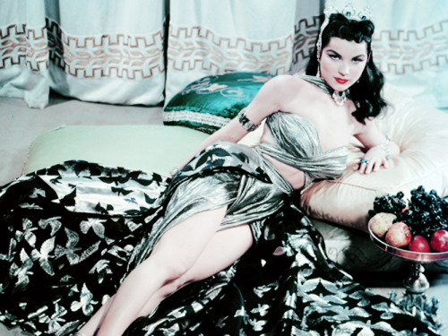 vintagegal:  Debra Paget in Princess of the Nile (1954)