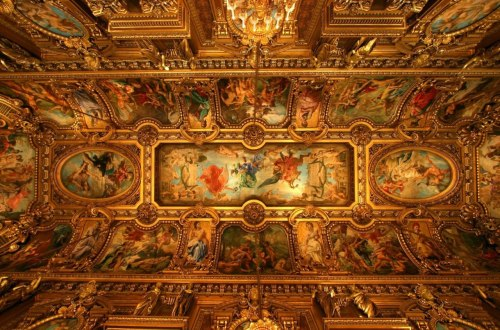 foyer of the Ópera de Paris