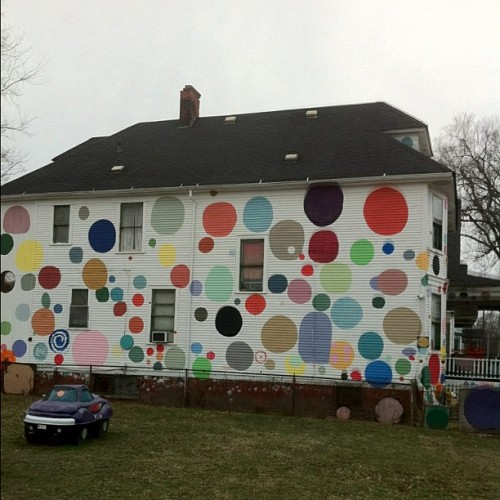 Heidelberg st. #detroit #michigan #art #313 #heidelberg #nofilter (Taken with instagram)