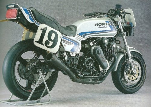 Supercharged CB750F.  Oooh how I would love to ride you!