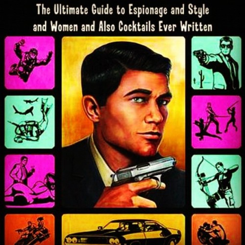 #Archer #SterlingArcher Guide to #Espionage #Style #Women and also #Cocktails  (Taken with instagram)