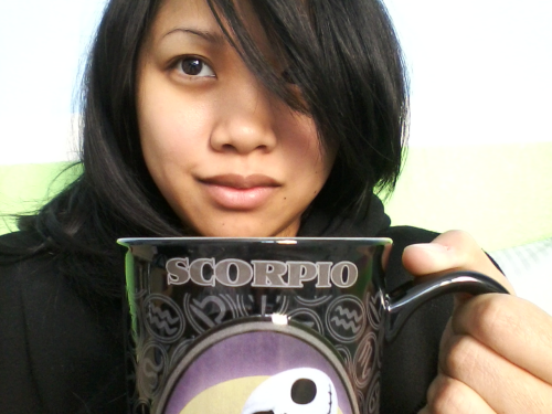 I feel crappy and look crappy, but this mug and tea makes things better.