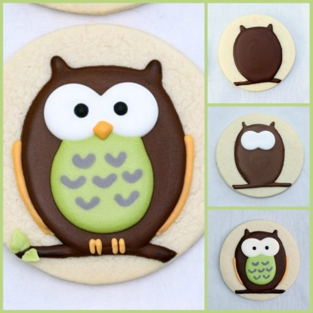dizzymaiden:  DIY: Owl cookie tutorial