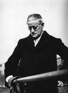 "newyorker:  Has James Joyce Been Set Free?  On New Year's Eve, the Twitter feed of UbuWeb, an online archive of the avant garde, posted a link to an article in The Irish Times about the expiry of European copyright on the work of James Joyce. The link was accompanied by a curt message to Joyce's grandson and sole living descendent: ""Fuck you Stephen Joyce. EU copyright on James Joyce's works ends at midnight."" While the language may have been unusually confrontational, the sentiment it expressed is widespread. The passage into public domain of Joyce's major works has been talked up in certain quarters as though it were a bookish version of the destruction of the Death Star, with Stephen Joyce cast as a highbrow Darth Vader suddenly no longer in a position to breathe heavily down the necks of rebel Joyceans.  -Mark O'Connell on what the post-Stephen will bring: http://nyr.kr/xj2D9F"