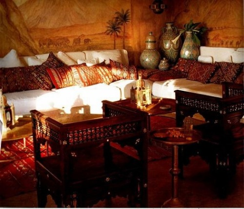 My Bohemian Home ~ Living Rooms  Moroccan design idea by Giorgina Devereaux