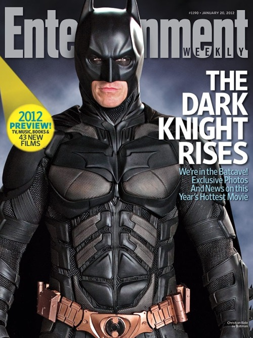 entertainmentweekly:  This Week's Cover: Our 2012 Forecast issue takes you to the set of 'The Dark Knight Rises'