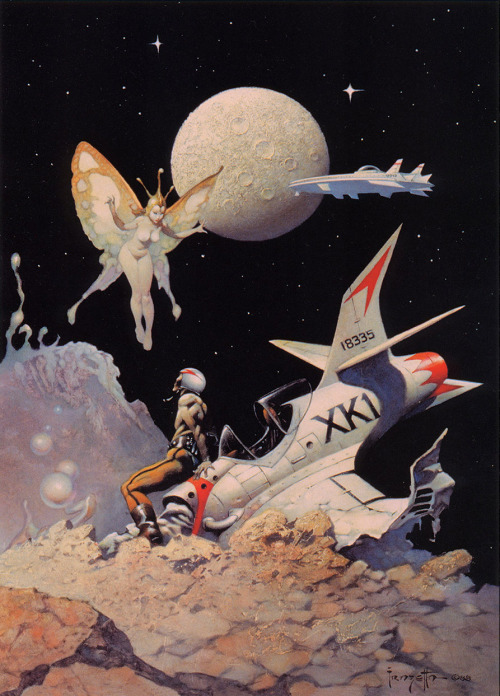 panicbeats:  Encounter by Frank Frazetta