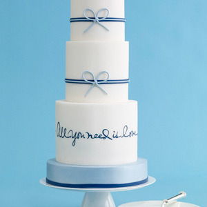All you need is love Cake from theknot.com