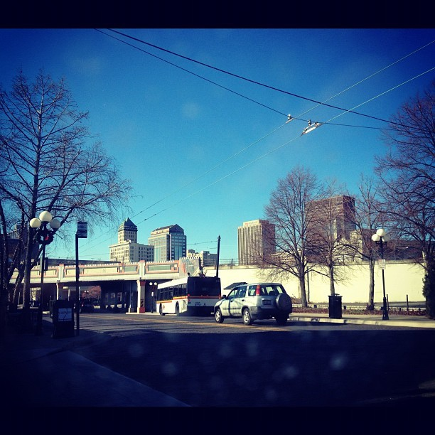 A shot of the city - #Downtown #Dayton #Ohio #Sidebar #Oregon #District #iphotography #iPhone  (Taken with Instagram at SideBar)
