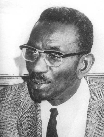 ladyspeakstheblues:  kemetically-ankhtified:  Dr. Cheikh Anta Diop the first person to scientifically prove that the people of Kemet (some of you call it Ancient Egypt) were Black Africans.  air quotes