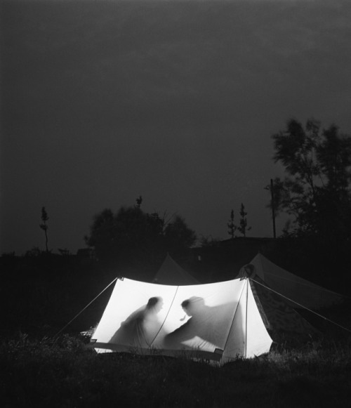 Kees Scheren, Illuminated tent, Unknown Date