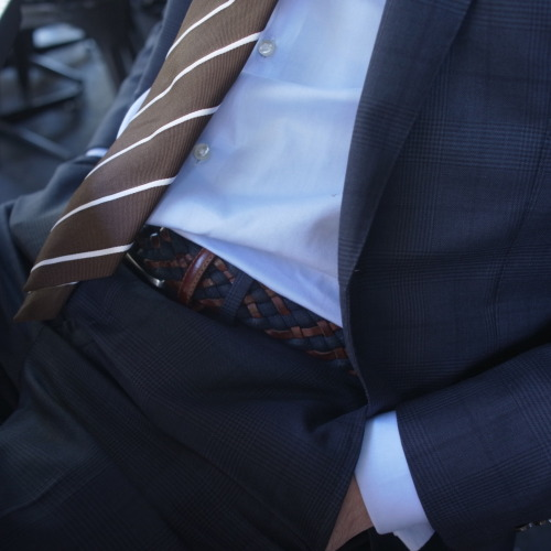 Man Thursday Mr Tudehope…belt ties in